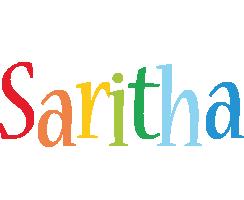 Saritha birthday logo