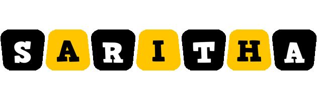 Saritha boots logo