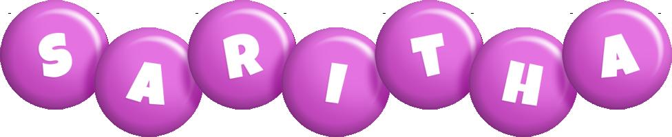 Saritha candy-purple logo