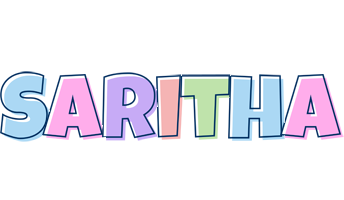 Saritha pastel logo