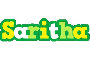 Saritha soccer logo