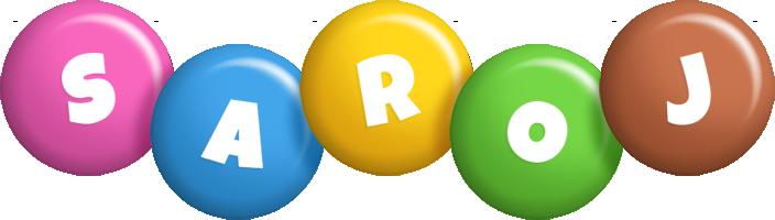 Saroj candy logo