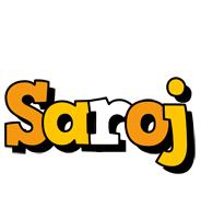 Saroj cartoon logo