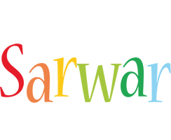 Sarwar birthday logo