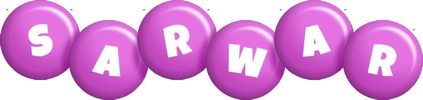 Sarwar candy-purple logo