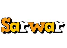 Sarwar cartoon logo