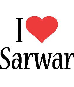 Sarwar i-love logo