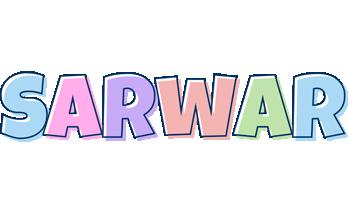 Sarwar pastel logo