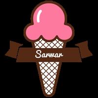 Sarwar premium logo
