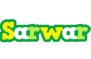 Sarwar soccer logo