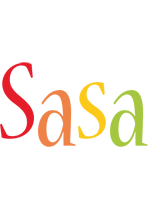 Sasa birthday logo