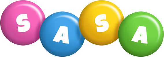 Sasa candy logo