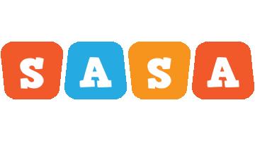 Sasa comics logo