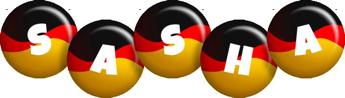Sasha german logo
