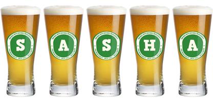 Sasha lager logo