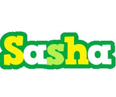 Sasha soccer logo