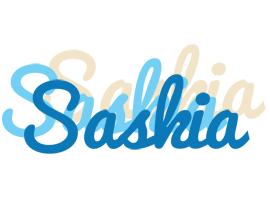 Saskia breeze logo