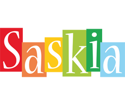 Saskia colors logo