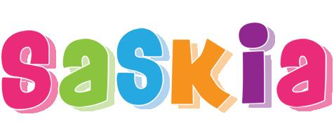 Saskia friday logo