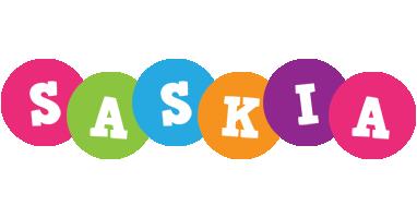 Saskia friends logo
