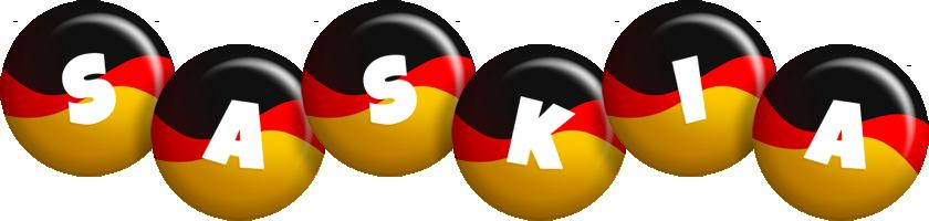 Saskia german logo