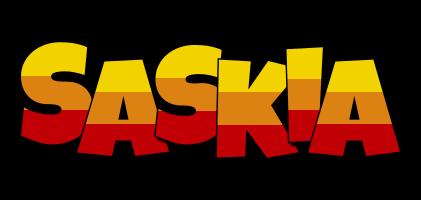 Saskia jungle logo
