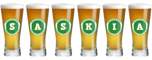 Saskia lager logo