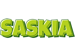 Saskia summer logo