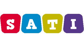 Sati daycare logo