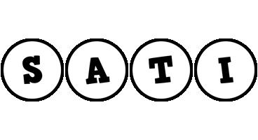 Sati handy logo