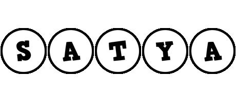 Satya handy logo