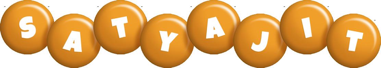 Satyajit candy-orange logo