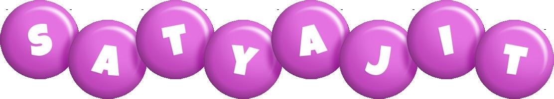 Satyajit candy-purple logo