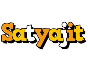 Satyajit cartoon logo