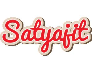 Satyajit chocolate logo