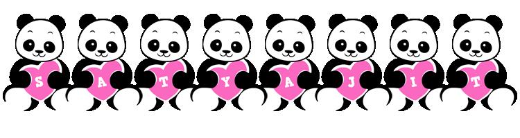 Satyajit love-panda logo