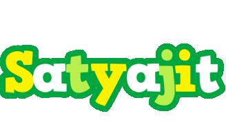 Satyajit soccer logo
