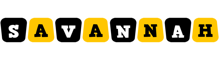 Savannah boots logo