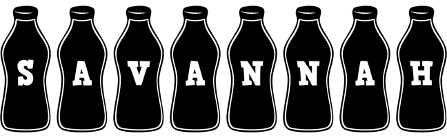 Savannah bottle logo