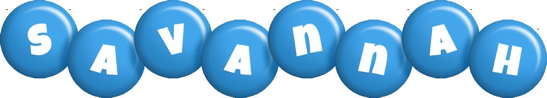 Savannah candy-blue logo