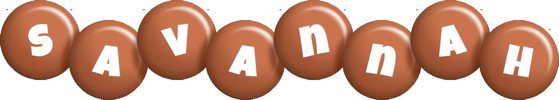 Savannah candy-brown logo