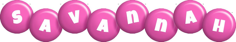 Savannah candy-pink logo
