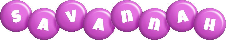 Savannah candy-purple logo