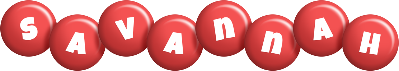 Savannah candy-red logo