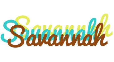 Savannah cupcake logo