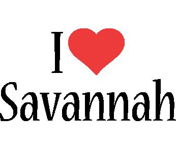 Savannah i-love logo