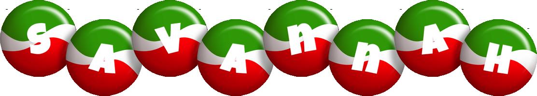 Savannah italy logo