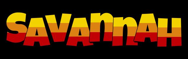 Savannah jungle logo