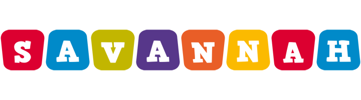 Savannah kiddo logo