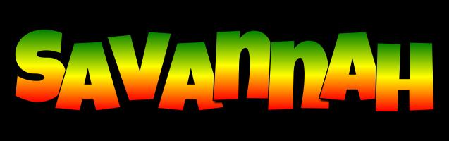 Savannah mango logo